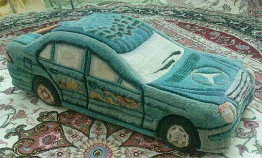 فرش حجمی اثر هنرمند تبریزی