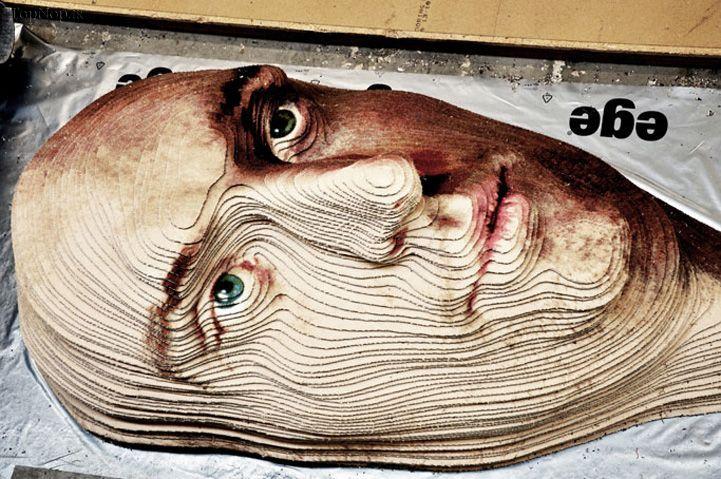 فرش سه بعدی، ابتکار یک تولیدی فرش دانمارکی