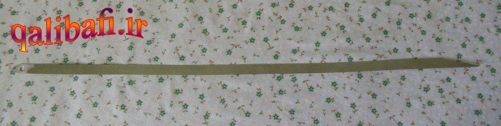 سیخ پودکشی در قالی بافی