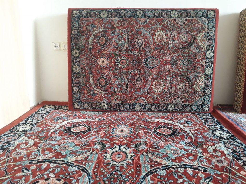 نمونه فرش دستبافت طرح روپشتی