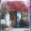 نمونه تابلوفرش بافته شده طرح خانه همسایه