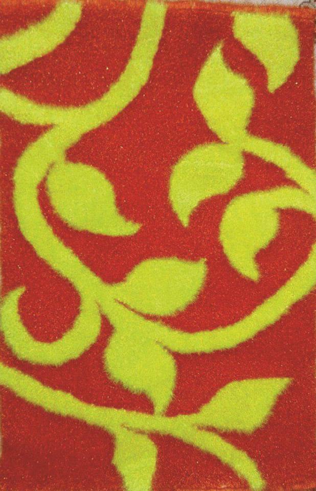 نمونه شبه قالی بافته شده بر روی گونی