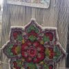 نمونه گلیم فرش طرح چند ضلعی بافته شده بر روی دار