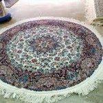 آموزش بافت فرش گرد